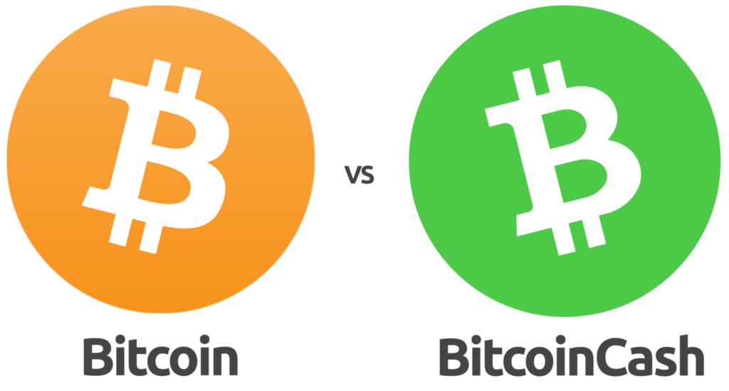 Diferencias entre Bitcoin Cash y Bitcoin