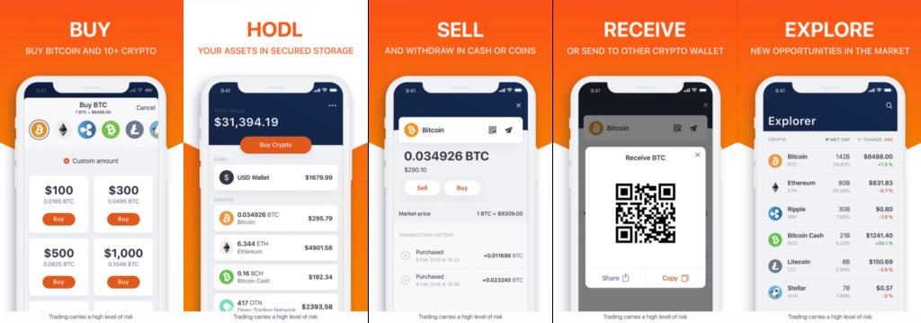 Hodly para comprar y vender criptomonedas de forma fácil